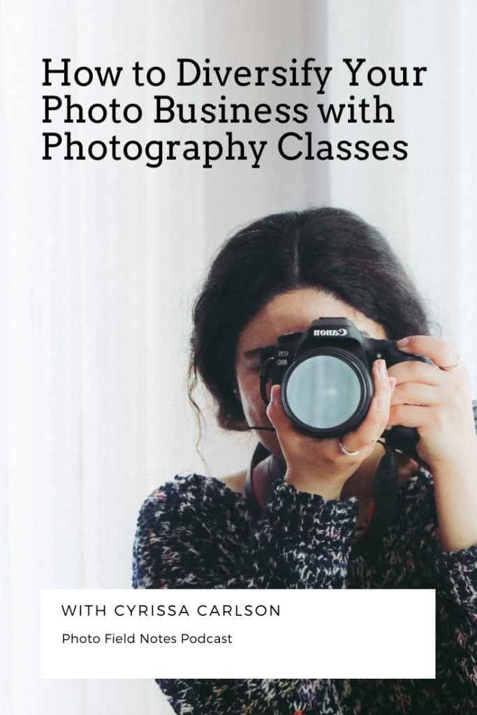 How to diversify your photography business by teaching photo classes